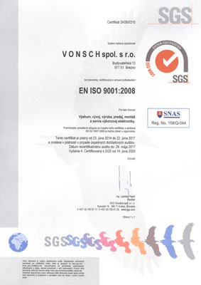 SGS - ISO 9001:2008