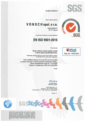 SGS - ISO 9001:2015